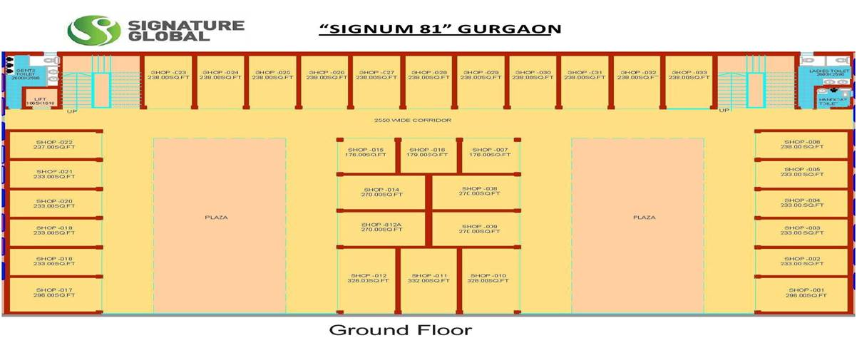 Ground Floor Signum 81